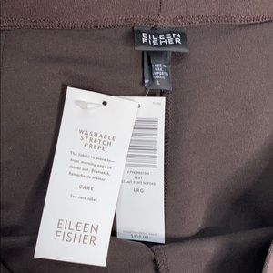 Eileen Fisher Pants & Jumpsuits - Eileen Fisher Peat Washable Crepe Straight Pant